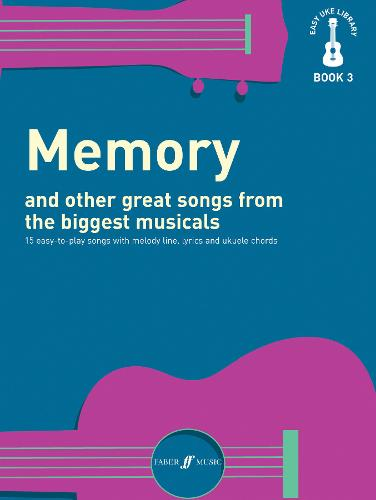 Memory and Other Great Songs from the Biggest Musicals: Melody/Lyrics/Chords - Easy Uke Library (Paperback)