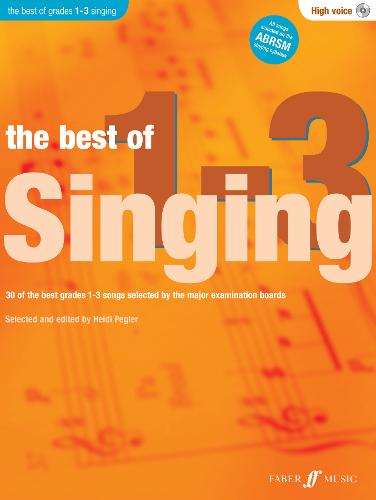The Best Of Singing Grades 1 - 3 (High Voice) - Best of Grade