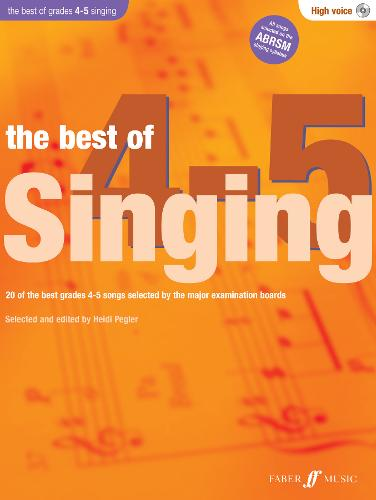 The Best Of Singing Grades 4-5 (High Voice) - Best of Grade
