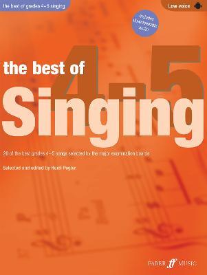 The Best Of Singing Grades 4-5 (Low Voice) - Best of Grade