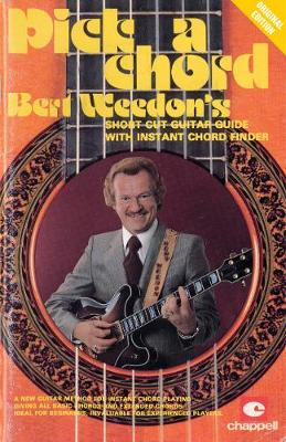 Bert Wedon's Pick a Chord: Short Cut Guitar Guide with Instant Chord Finder (Paperback)