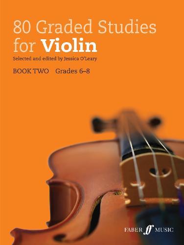 80 Graded Studies for Violin: Book 2 - Graded Studies Series (Sheet music)