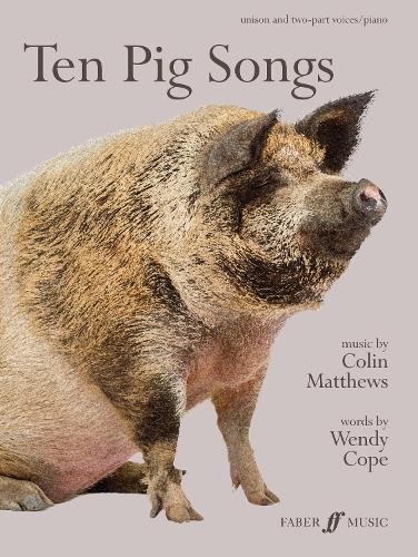 Ten Pig Songs (Sheet music)