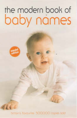 The Modern book of baby's names (Paperback)