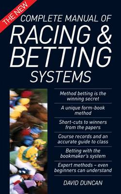 The New Complete Manual of Racing and Betting Systems (Paperback)