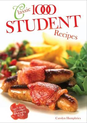 The Classic 1000 Student Recipes (Paperback)