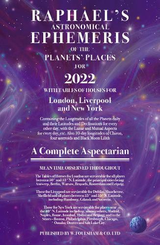 Raphael's Ephemeris 2022 (Paperback)