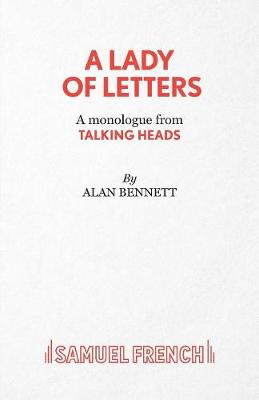 A Lady of Letters - Acting Edition S. (Paperback)