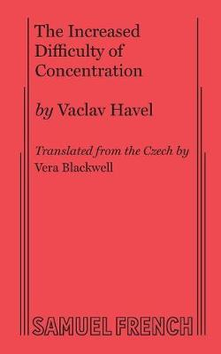 The Increased Difficulty of Concentration (Paperback)
