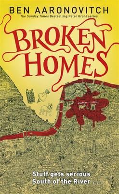 Broken Homes: The Fourth Rivers of London novel (Hardback)