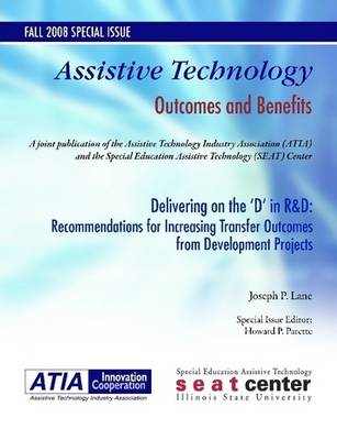 Delivering on the 'D' in R&D: Recommendations for Increasing Transfer Outcomes from Developmental Projects (Paperback)