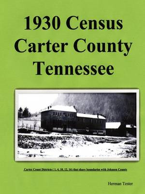 1930 Census Carter County Tennessee (Paperback)