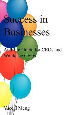 Success in Businesses: An Elite Guide for Ceos and Would-Be Ceos (Paperback)