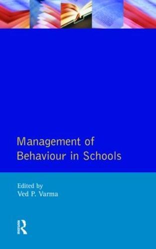 Management of Behaviour in Schools (Paperback)