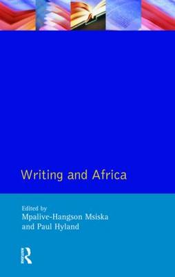 Writing and Africa - Crosscurrents (Paperback)