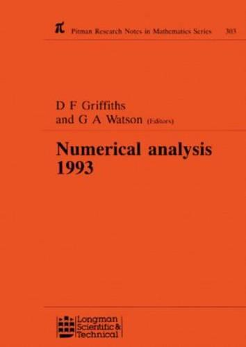 Numerical Analysis 1993 (Hardback)