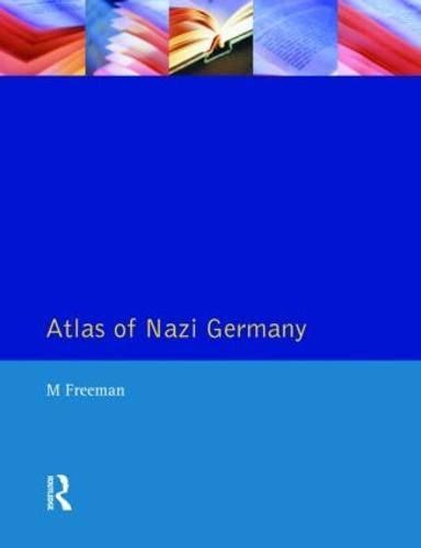Atlas of Nazi Germany (Paperback)