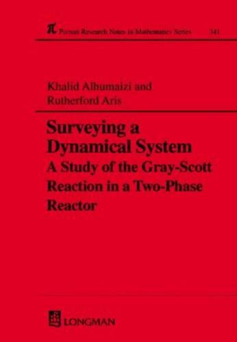 Surveying a Dynamical System: A Study of the Gray-Scott Reaction in a Two-Phase Reactor - Chapman & Hall/CRC Research Notes in Mathematics Series 341 (Hardback)