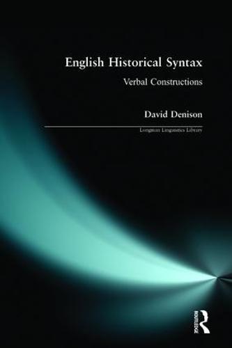 English Historical Syntax - Longman Linguistics Library (Paperback)