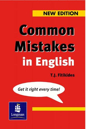 Common Mistakes in English New Edition - Grammar Reference (Paperback)