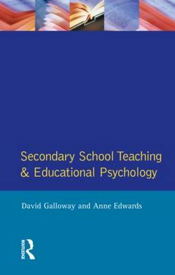 Secondary School Teaching and Educational Psychology - Effective Teacher, The (Paperback)