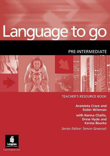 Language to Go Pre-Intermediate Teachers Resource Book - Language to Go (Paperback)