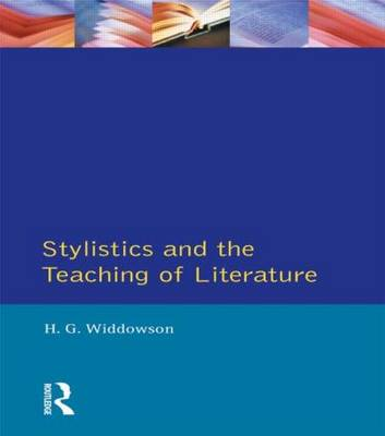 Stylistics and the Teaching of Literature - Applied Linguistics and Language Study (Paperback)