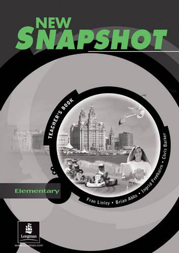 Snapshot Elementary Teacher's Book New Edition - Snapshot (Spiral bound)