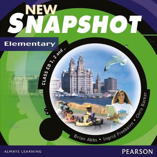 Snapshot Elementary Class CD 1-3 New Edition - Snapshot (CD-Audio)