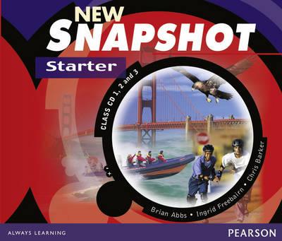 Snapshot Starter Class CD 1-3 Audio New Edition - Snapshot (CD-Audio)