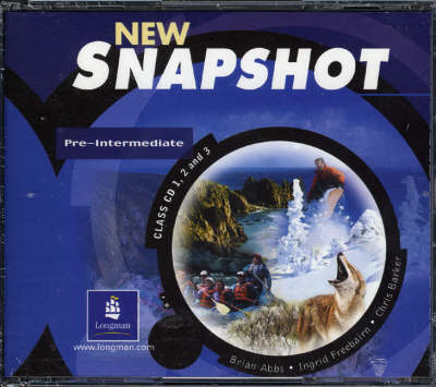 Snapshot Pre-Intermediate Class CD 1-3 Audio New Edition - Snapshot (CD-Audio)
