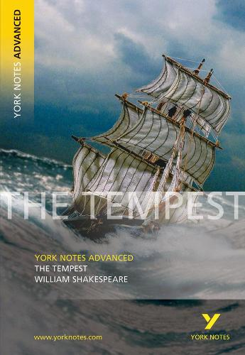 Cover The Tempest: York Notes Advanced - York Notes Advanced