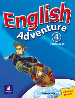 English Adventure Level 4 Pupils Book plus Reader - English Adventure (Paperback)