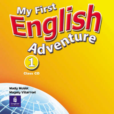 My First English Adventure Level 1 Class CD - English Adventure (CD-Audio)
