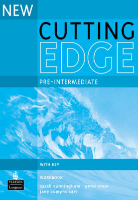 New Cutting Edge Pre-Intermediate Workbook with Key - Cutting Edge (Paperback)