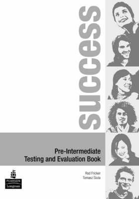 Success Pre-Intermediate Test Book - Success (Paperback)