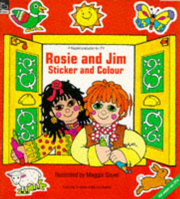 Rosie and Jim Sticker and Colour Book - Rosie & Jim - activity books