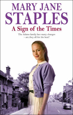 A Sign Of The Times: An Adams Family Saga Novel - The Adams Family (Hardback)