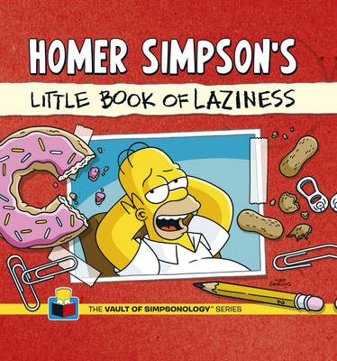 Homer Simpson's Little Book of Laziness (Hardback)
