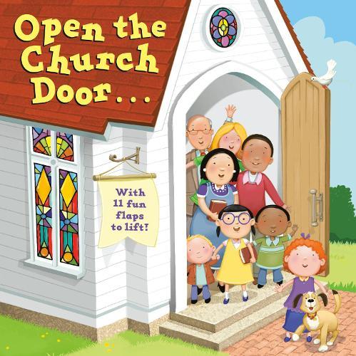 Open The Church Door (Board book)