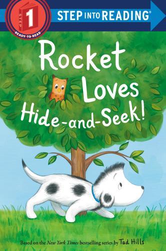 Rocket Loves Hide-and-Seek! - Step into Reading (Hardback)