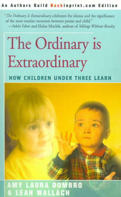 The Ordinary is Extraordinary: How Children Under Three Learn (Paperback)
