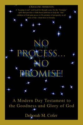 No Process...No Promise!: A Modern Day Testament to the Goodness and Glory of God (Paperback)