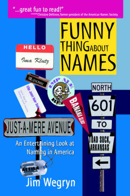 Funny Thing About Names: An Entertaining Look at Naming in America (Paperback)