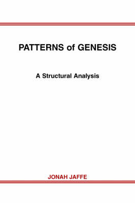 Patterns of Genesis: A Structural Analysis (Paperback)