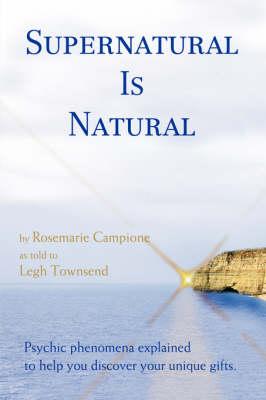 Supernatural Is Natural (Paperback)