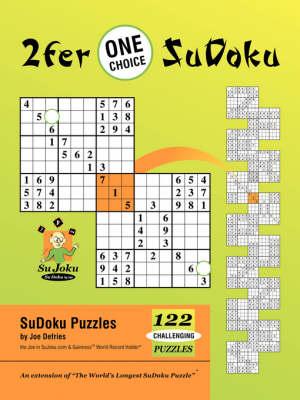 2fer 'One Choice' Sudoku (Paperback)