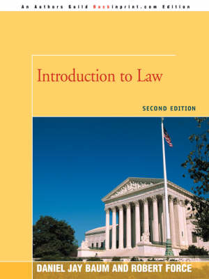 Introduction to Law: Second Edition (Paperback)