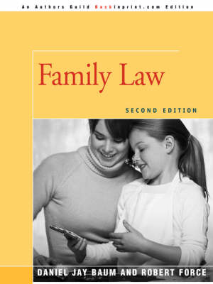 Family Law: Second Edition (Paperback)