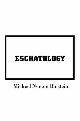 Eschatology (Paperback)